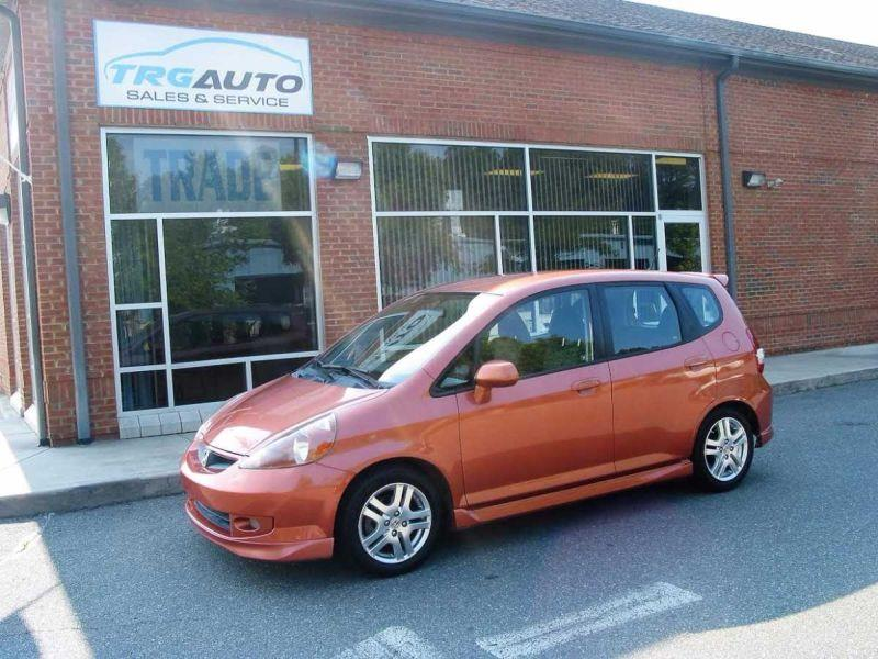 2008 Honda Fit For Sale At TRG Auto Sales U0026 Service In Durham NC