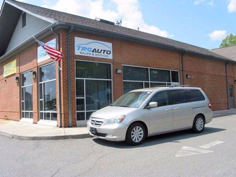 2006 Honda Odyssey For Sale At TRG Auto Sales U0026 Service In Durham NC