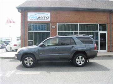 2005 Toyota 4Runner for sale at TRG Auto Sales in Durham NC
