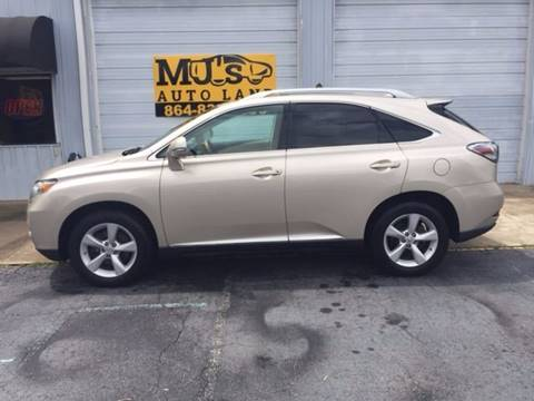 2011 Lexus RX 350 for sale in Easley, SC