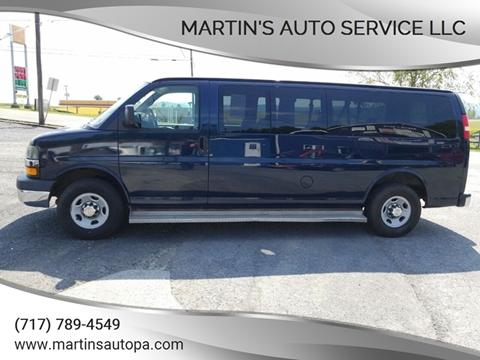 Used Passenger Vans For Sale >> 2009 Chevrolet Express Passenger For Sale In Landisburg Pa