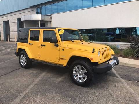 2015 Jeep Wrangler Unlimited for sale in Elkhart, IN