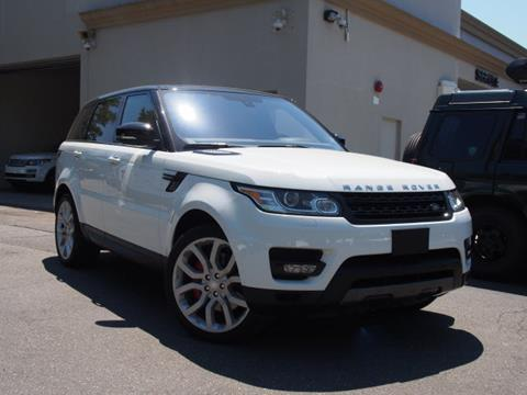 2016 Land Rover Range Rover Sport for sale in Huntington, NY