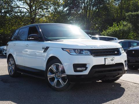 2015 Land Rover Range Rover Sport for sale in Huntington, NY