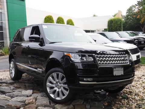 2014 Land Rover Range Rover for sale in Southampton NY