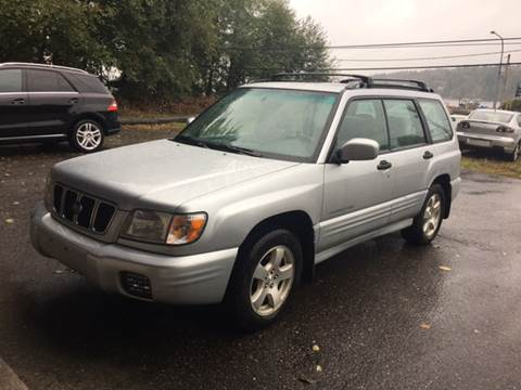 2002 Subaru Forester for sale in Gig Harbor, WA