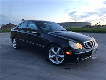 2004 Mercedes-Benz C-Class for sale at FREEDOM AUTO SALES INC in Sacramento CA