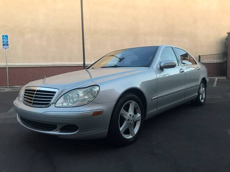2004 Mercedes-Benz S-Class for sale at FREEDOM AUTO SALES INC in Sacramento CA