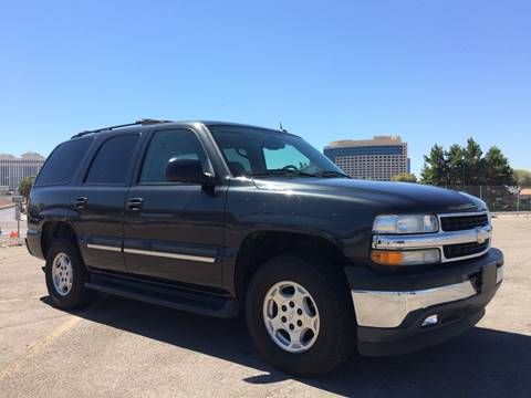 2005 Chevrolet Tahoe for sale in Las Vegas, NV
