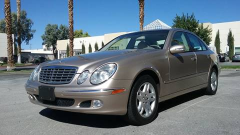 2004 Mercedes-Benz E-Class for sale at Nevada Credit Save in Las Vegas NV