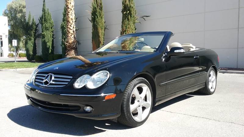 2005 Mercedes Benz CLK For Sale At Nevada Credit Save In Las Vegas NV