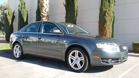 2007 Audi A4 for sale at Nevada Credit Save in Las Vegas NV