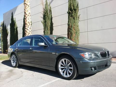 2008 BMW 7 Series for sale at Nevada Credit Save in Las Vegas NV