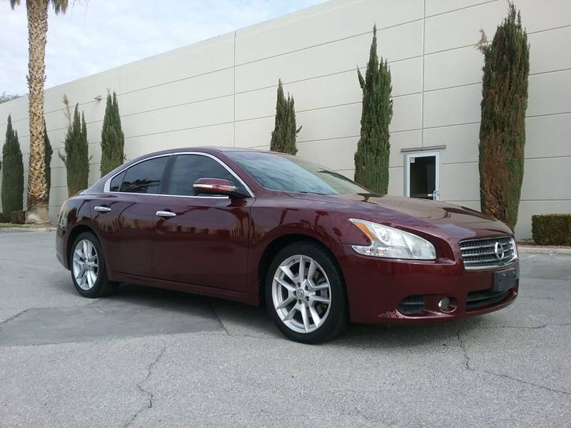 2009 Nissan Maxima for sale at Nevada Credit Save in Las Vegas NV