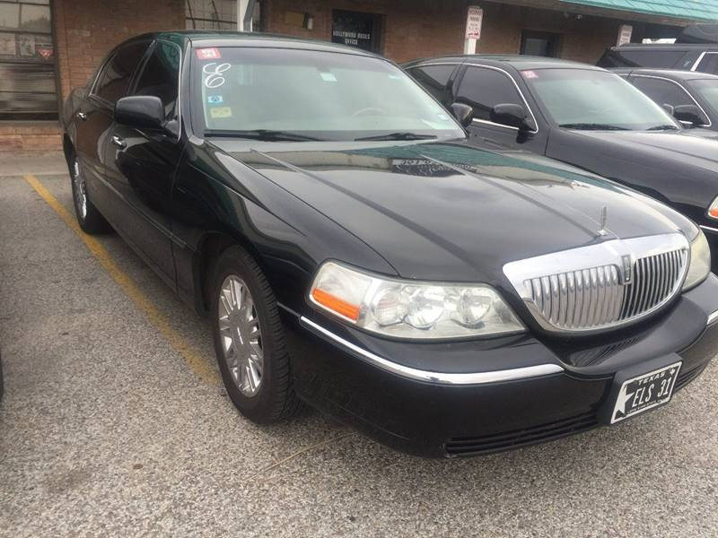 2010 Lincoln Town Car for sale at E-Ride Elite in Corpus Christi TX