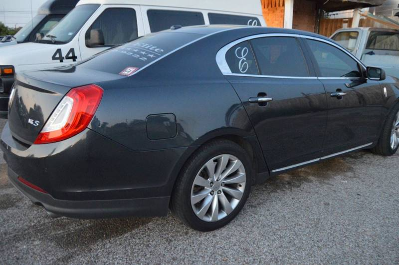 2014 Lincoln MKS for sale at E-Ride Elite in Corpus Christi TX