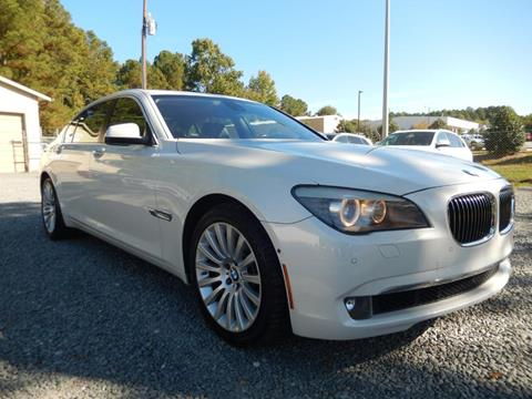 2012 BMW 7 Series for sale in Cary, NC