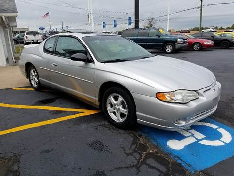 2003 Chevrolet Monte Carlo for sale in Frankfort, IL