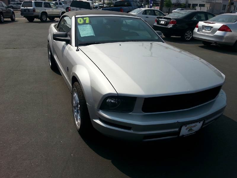 2007 Ford Mustang for sale at Schroeder Auto Wholesale in Medford OR