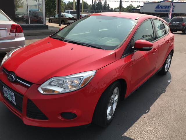 2014 Ford Focus for sale at Schroeder Auto Wholesale in Medford OR