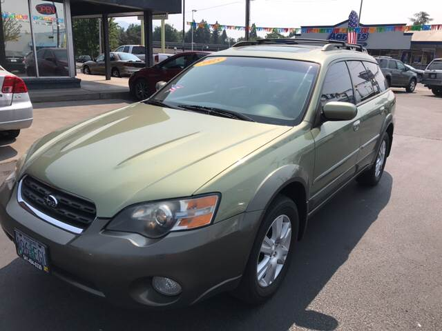 2005 Subaru Outback for sale at Schroeder Auto Wholesale in Medford OR