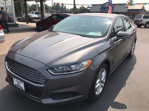 2013 Ford Fusion for sale at Schroeder Auto Wholesale in Medford OR