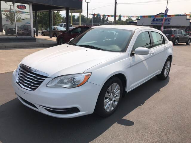 2011 Chrysler 200 for sale at Schroeder Auto Wholesale in Medford OR