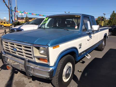 1992 Ford F-250 for sale at Schroeder Auto Wholesale in Medford OR