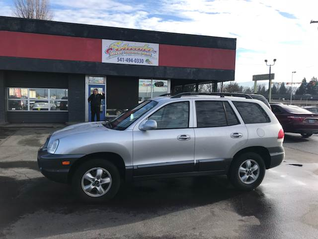2005 Hyundai Santa Fe For Sale At Schroeder Auto Wholesale In Medford OR