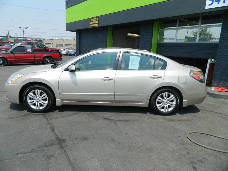 2010 Nissan Altima For Sale At Schroeder Auto Wholesale In Medford OR