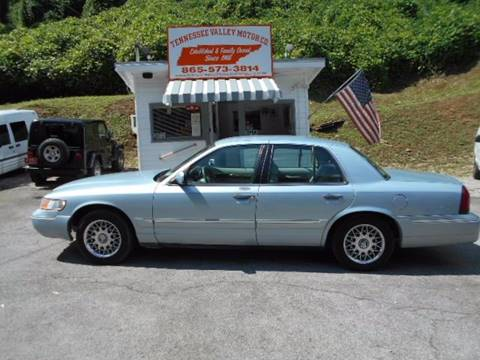 2002 Mercury Grand Marquis for sale in Knoxville, TN