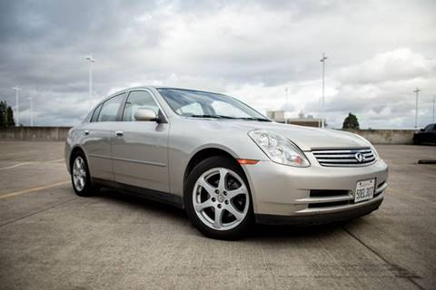 2003 Infiniti G35 for sale in Corvallis OR