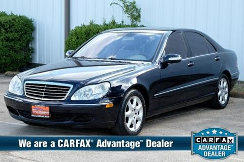 2005 Mercedes-Benz S-Class for sale in Mesquite, TX
