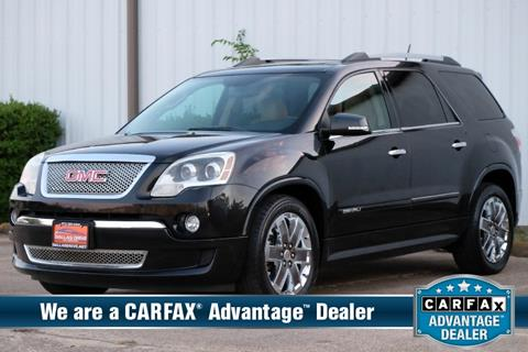 2011 GMC Acadia for sale in Mesquite, TX
