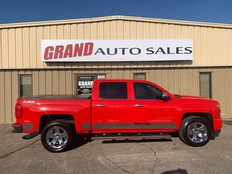 2016 Chevrolet Silverado 1500 for sale at GRAND AUTO SALES in Grand Island NE