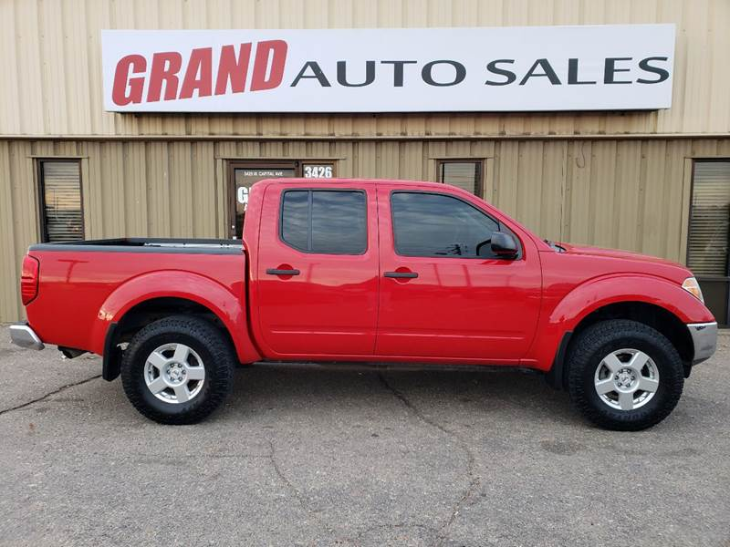2007 Nissan Frontier for sale at GRAND AUTO SALES in Grand Island NE