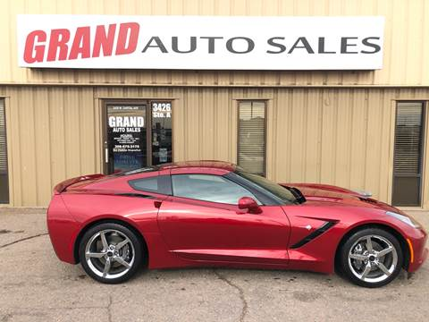 2014 Chevrolet Corvette for sale at GRAND AUTO SALES in Grand Island NE
