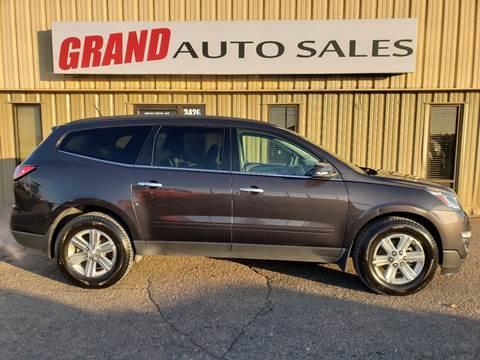2014 Chevrolet Traverse for sale at GRAND AUTO SALES in Grand Island NE