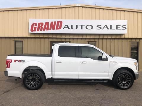 2015 Ford F-150 for sale at GRAND AUTO SALES in Grand Island NE