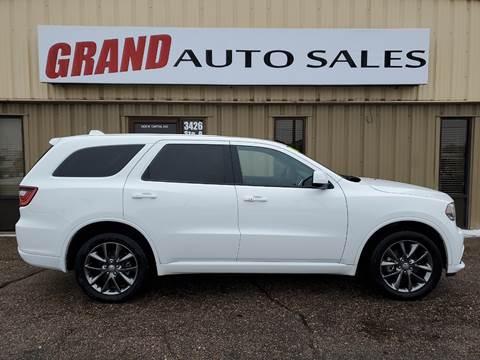 2015 Dodge Durango for sale at GRAND AUTO SALES in Grand Island NE