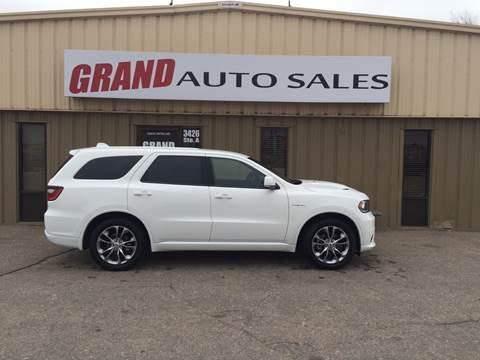 2020 Dodge Durango for sale at GRAND AUTO SALES in Grand Island NE