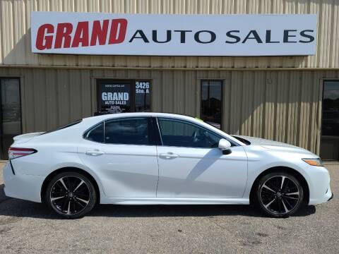 2020 Toyota Camry for sale at GRAND AUTO SALES in Grand Island NE
