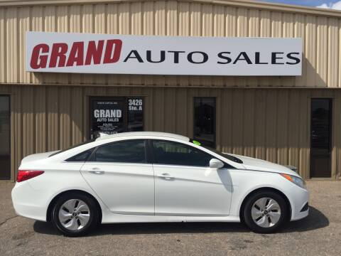 2014 Hyundai Sonata for sale at GRAND AUTO SALES in Grand Island NE