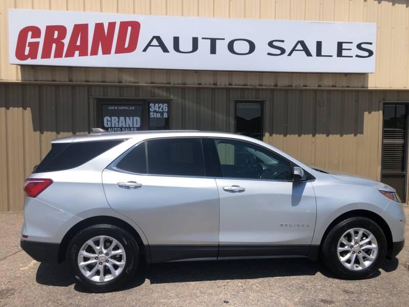 2018 Chevrolet Equinox for sale at GRAND AUTO SALES in Grand Island NE