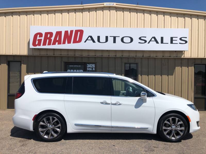 2020 Chrysler Pacifica for sale at GRAND AUTO SALES in Grand Island NE