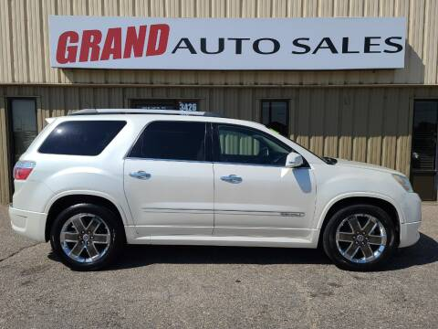 2011 GMC Acadia for sale at GRAND AUTO SALES in Grand Island NE