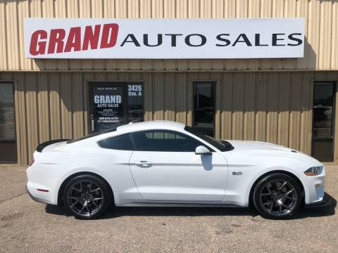 2019 Ford Mustang for sale at GRAND AUTO SALES in Grand Island NE