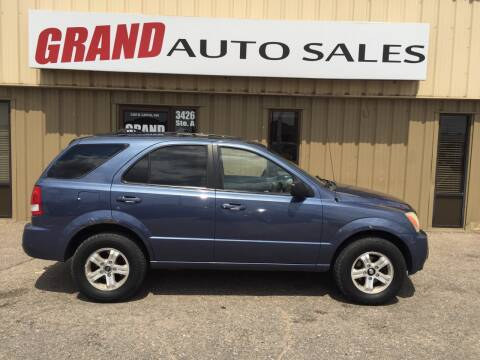 2004 Kia Sorento for sale at GRAND AUTO SALES in Grand Island NE