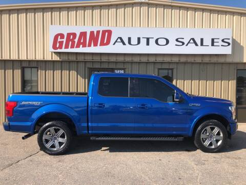 2018 Ford F-150 for sale at GRAND AUTO SALES in Grand Island NE