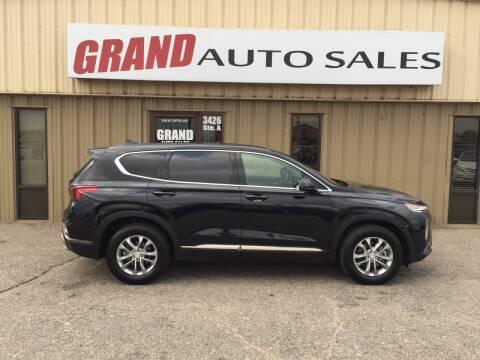 2019 Hyundai Santa Fe for sale at GRAND AUTO SALES in Grand Island NE